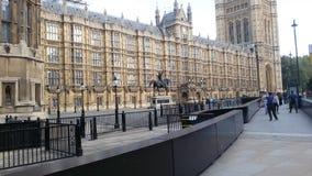Queda em Inglaterra - o parlamento fotos de stock royalty free