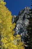 Queda em montanhas de Utá fotos de stock