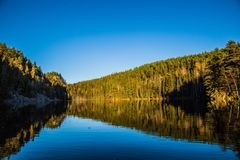 Queda em Noruega Imagem de Stock Royalty Free
