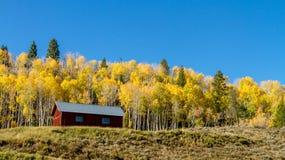 Queda em Steamboat Springs Colorado Foto de Stock