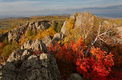 Queda em Ural foto de stock royalty free