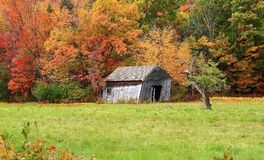 Queda em Vermont Foto de Stock Royalty Free