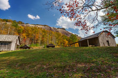 Queda na montanha de pedra Fotografia de Stock Royalty Free