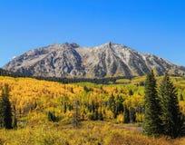 Queda nas Montanhas Rochosas Fotografia de Stock