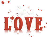 Queda no amor. Fotos de Stock