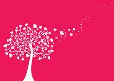 Queda no amor ilustração royalty free