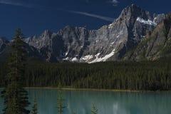 Queda no canadense Montanhas Rochosas Fotografia de Stock Royalty Free