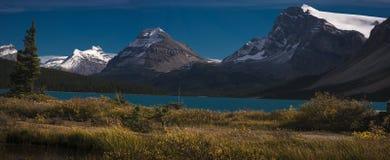 Queda no canadense Montanhas Rochosas Fotografia de Stock