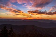 Queda no parque nacional de Great Smoky Mountains Imagens de Stock