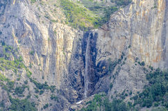 Queda nupcial Califórnia da água do véu Imagens de Stock