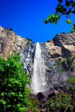 Queda nupcial dos véus, parque nacional de Yosemite Fotografia de Stock