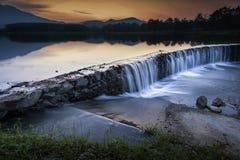 Queda pequena da água Imagem de Stock Royalty Free