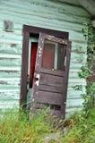 Queda velha da porta das dobradiças da CABI histórica Imagem de Stock Royalty Free