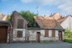 Queda velha distante casa Imagem de Stock Royalty Free