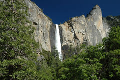 Queda Yosemite da água Fotos de Stock