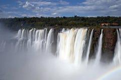 Quedas 5 de Iguazzu Imagens de Stock