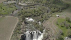Quedas & Celestial Falls de White River 04 28 19 vídeos de arquivo
