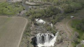 Quedas & Celestial Falls de White River 04 28 19 video estoque