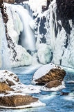 Quedas congeladas Imagens de Stock Royalty Free