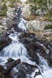 Quedas continentais médias perto de Breckenridge Fotos de Stock Royalty Free