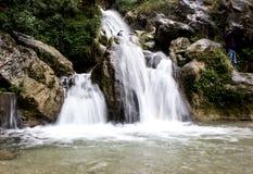 Quedas da água Foto de Stock Royalty Free