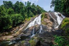 Quedas da água de Charpa Imagens de Stock Royalty Free