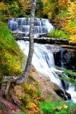 Quedas da água de Michigan Fotografia de Stock Royalty Free