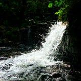 Quedas da água Natureza do amor foto de stock