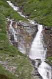 Quedas da mulher do pássaro, parque nacional de geleira Fotos de Stock Royalty Free