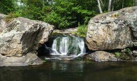 Quedas da pantera, Amherst County, Virgínia, EUA imagem de stock royalty free
