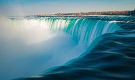 Quedas da sapata do cavalo de Niagara Falls Ontário Canadá Foto de Stock
