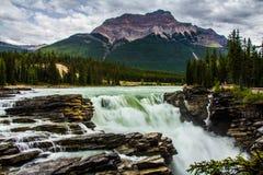 Quedas de Anthabasca Imagens de Stock