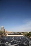 Quedas de Anthony de Saint - Minneapolis imagens de stock