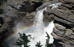 Quedas de Athabasca Fotografia de Stock Royalty Free