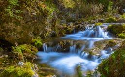 Quedas de conexão em cascata Imagem de Stock