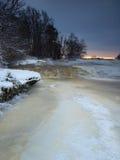 Quedas de congelação Imagem de Stock Royalty Free
