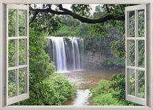 Quedas de Dangar Imagem de Stock Royalty Free