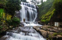 Quedas de Dunsinane, Sri Lanka imagem de stock