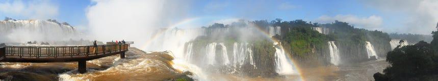 Quedas de Iguassu - Brasil imagens de stock