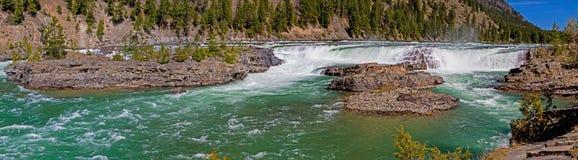 Quedas de Kootenai Imagem de Stock Royalty Free