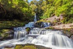 Quedas de Mclean, Catlins, Nova Zelândia Fotos de Stock