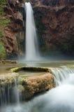 Quedas de Mooney e cascatas do Travertine Imagens de Stock Royalty Free