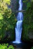 Quedas de Multnomah, desfiladeiro do Rio Columbia, Oregon fotos de stock