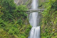 Quedas de Multnomah, Oregon Fotografia de Stock