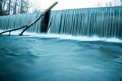 Quedas de pedra velhas da água do parque estadual do forte Foto de Stock