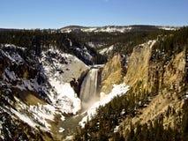 Quedas de pressa de Yellowstone Imagens de Stock Royalty Free