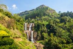 Quedas de Ramboda, Sri Lanka foto de stock