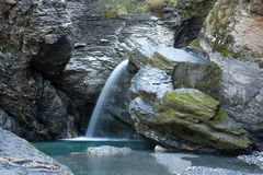 Quedas de Rheinbach. Switzerland Fotografia de Stock Royalty Free