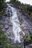 Quedas de Shannon, Columbia Britânica de Squamish Fotografia de Stock Royalty Free