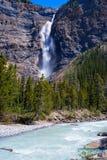 Quedas de Takakkaw, Canadá foto de stock royalty free